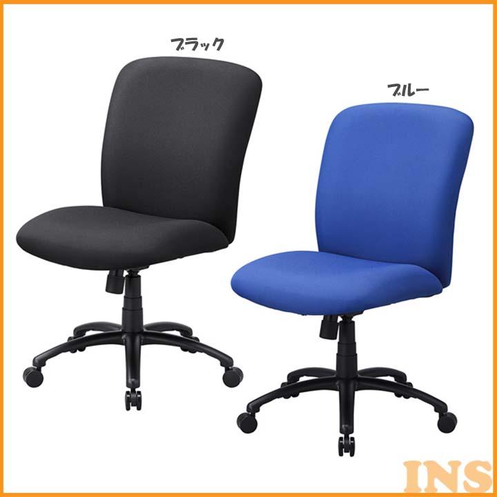 高耐荷重オフィスチェア SNC-T151BK・BL 送料無料 チェア 椅子 イス いす 120kg サンワサプライ ブラック・ブルー【TD】 【代引不可】
