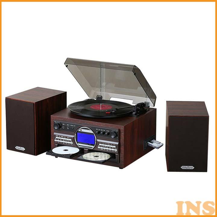 DVDカラオケ録音機能付き多機能プレーヤー TS-6153 送料無料 マルチプレーヤー CD カセット レコード とうしょう 【D】