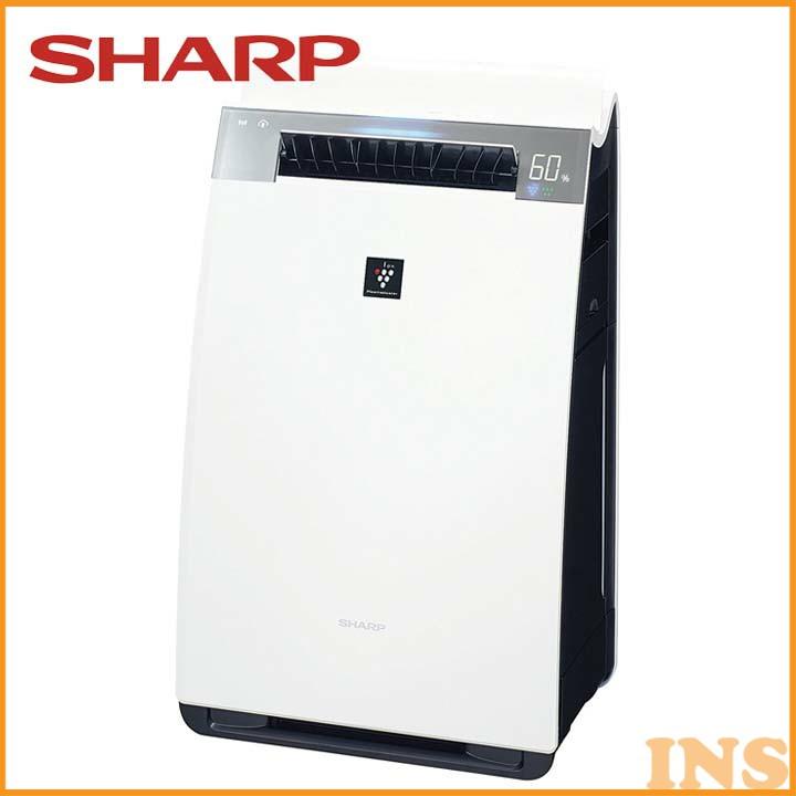 加湿空気清浄機 ホワイト KI-HX75-W 送料無料 空気清浄器 プラズマクラスター 21畳 クラウド対応 シャープ 【D】