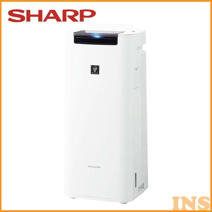 加湿空気清浄機 ホワイト KI-HS40-W 送料無料 空気清浄器 プラズマクラスター 10畳 季節家電 シャープ 【D】