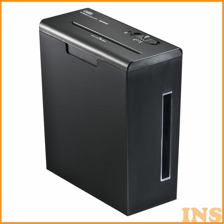 マイクロカットシュレッダー SHR-MXK03家庭用 電動 マイクロカット A4 オーム電機 【D】