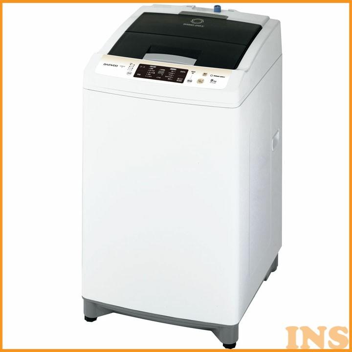全自動洗濯機 9.0Kg ホワイト DW-MT90DG 送料無料 洗濯機 全自動 せんたくき 全自動 ぜんじどう 9kg 9.1kg 9キロ 9きろ 大容量 大宇 【D】