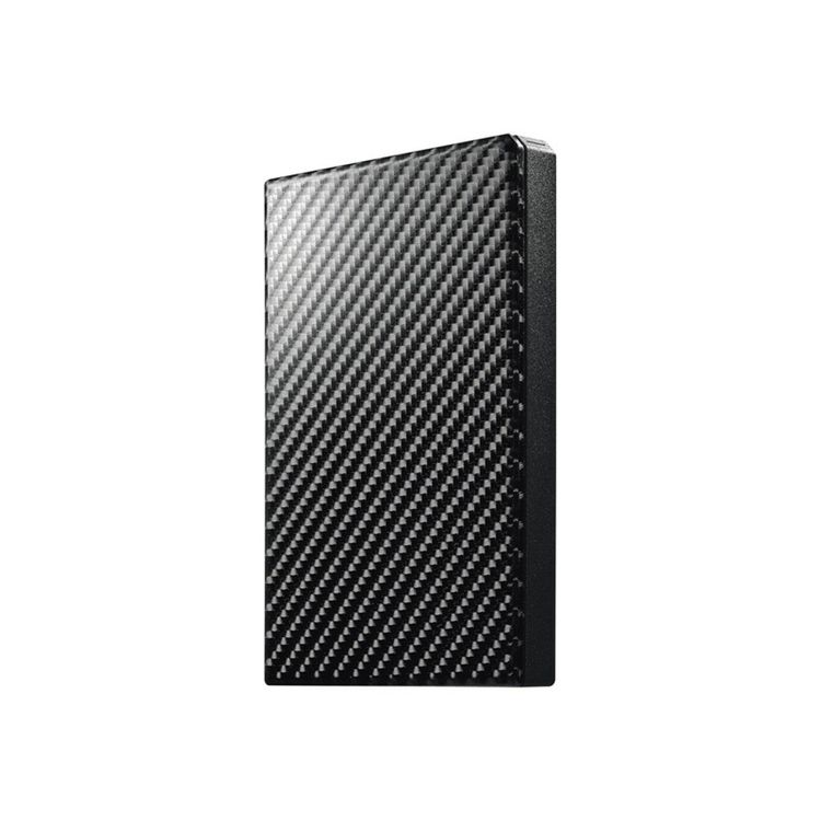 USB3.1 Gen1 ポータブルHDD カーボンブラック 500GB HDPT-UTS500KPC機器 I・O・DATA パソコン アイ・オー・データ機器 【D】