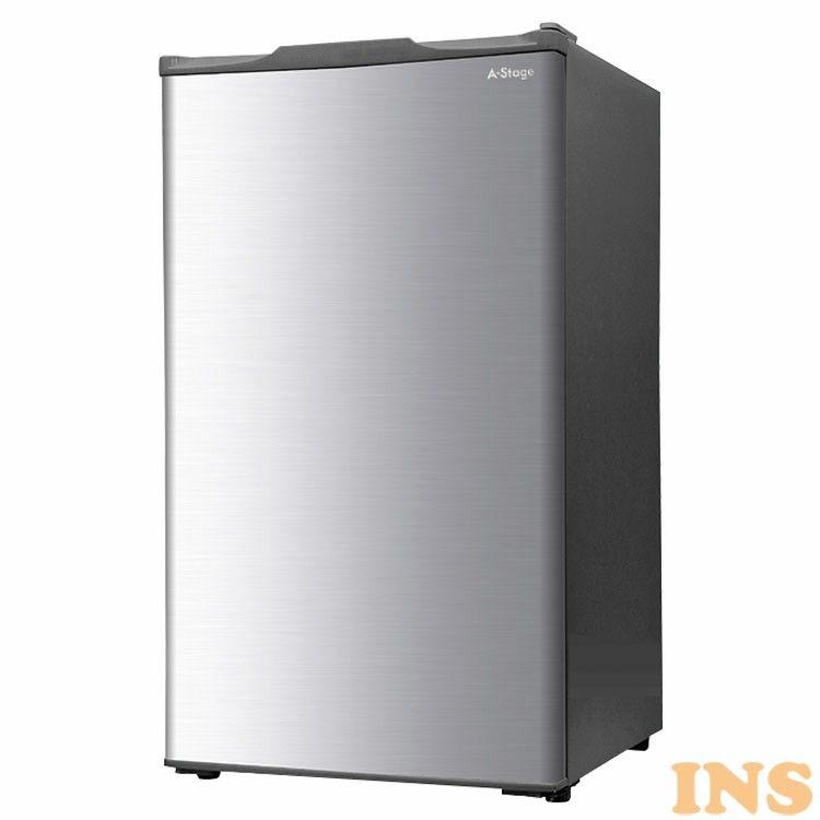 A-stage 1ドア冷凍庫 60L シルバー WRH-F1060SL 送料無料 冷凍庫 直冷式 小型冷凍庫 前開き式 コンパクト 静音タイプ 1ドア 60L シルバー WRH-F1060 【D】