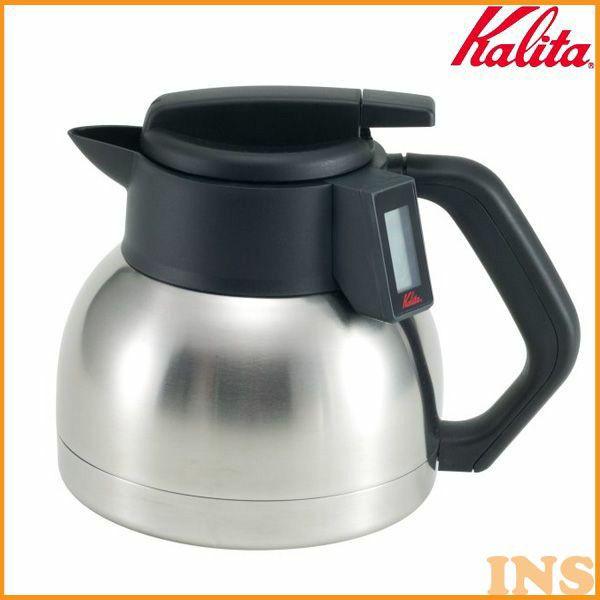 Kalita〔カリタ〕液晶サーモデカンター1.8L KTD-18 KTD-18【K】【D】