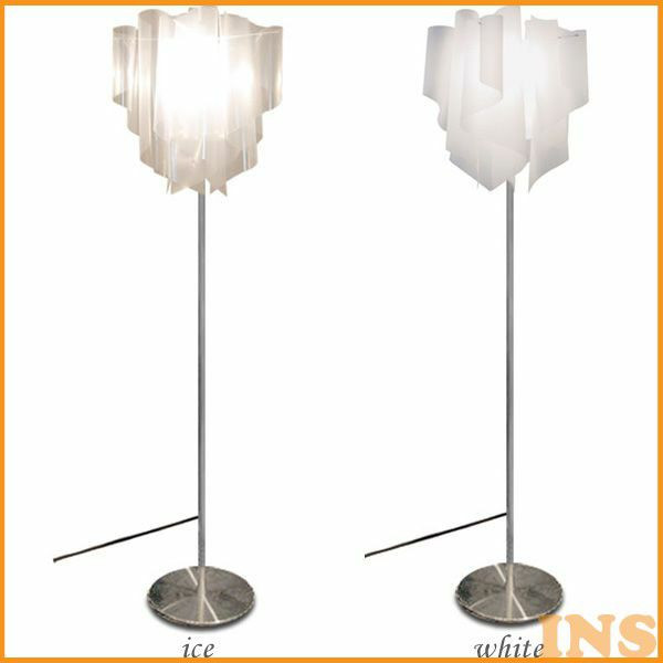 DI CLASSE(ディ クラッセ) Auro floor lamp LF4200 white・ice【TC】【照明/インテリア/リビング/フロアランプ/ライト/間接照明/北欧/ナチュラルテイスト/モダン】【【取寄品】