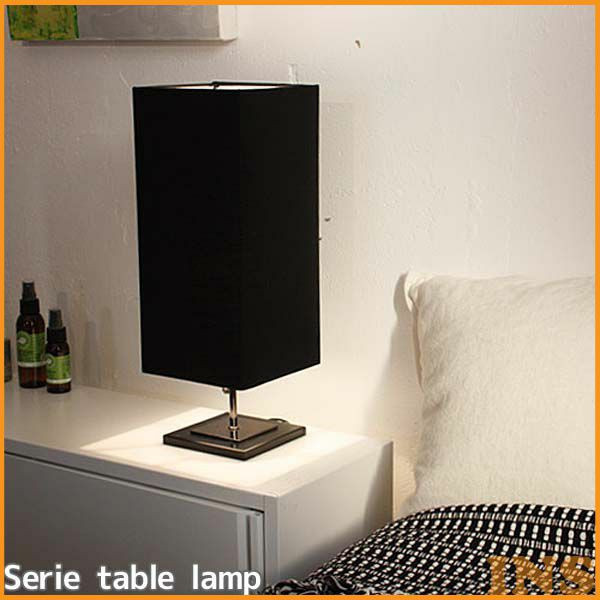 Serie table lamp white・black【TC】【DIC】