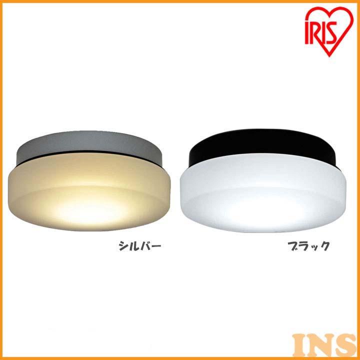シーリングφ300 700lm 3000K 乳白 NSE30-GX53S・NSE30-GX53B シルバー・ブラック 付属電球(電球色相当・昼白色相当) LDF8N-H-GX53-V2・LDF8L-H-GX53-V2【LED LEDライト LED照明 天井照明 シーリングライト LEDシーリング】 アイリスオーヤマ
