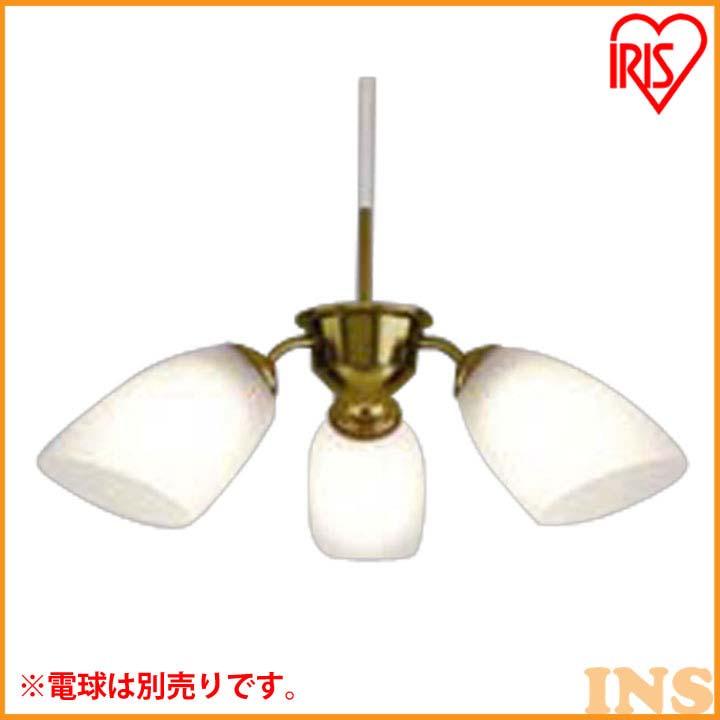 LEDペンダント3灯 ドゥオーロ 乳白/金色ヘアライン PLN-3E26F【LED LEDライト LED照明 天井照明 ペンダントライト 洋風】 アイリスオーヤマ