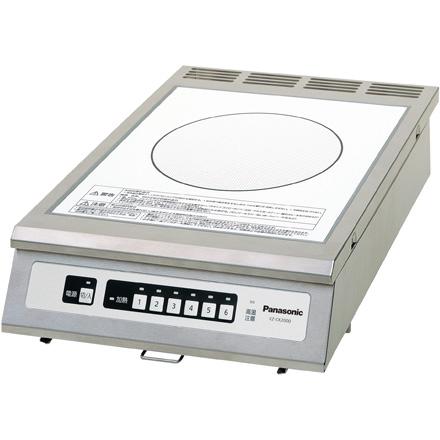 パナソニック   厨房用 業務用IHクッキングヒーター KZ-CK2000  単相200V 送料無料