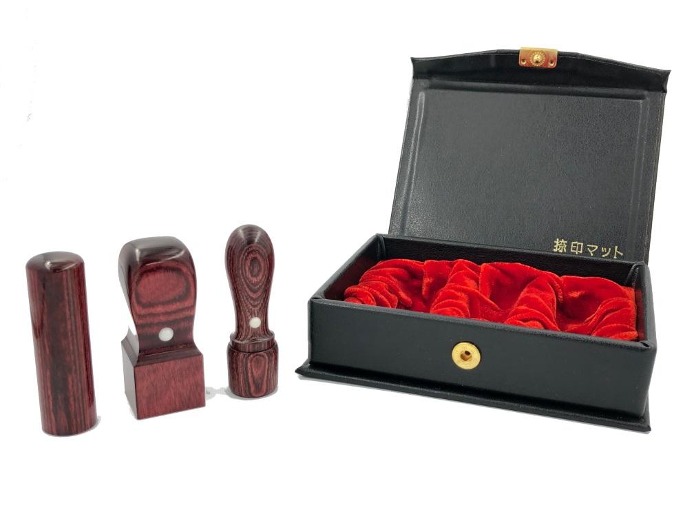 会社設立3本セットB彩樺 (赤)21mm