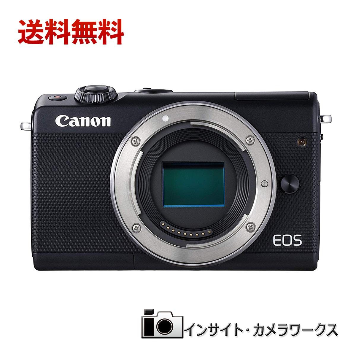 【特別価格】Canon ミラーレス一眼カメラ EOS M100 ボディ ブラック EOSM100BK-BODY キヤノン イオス