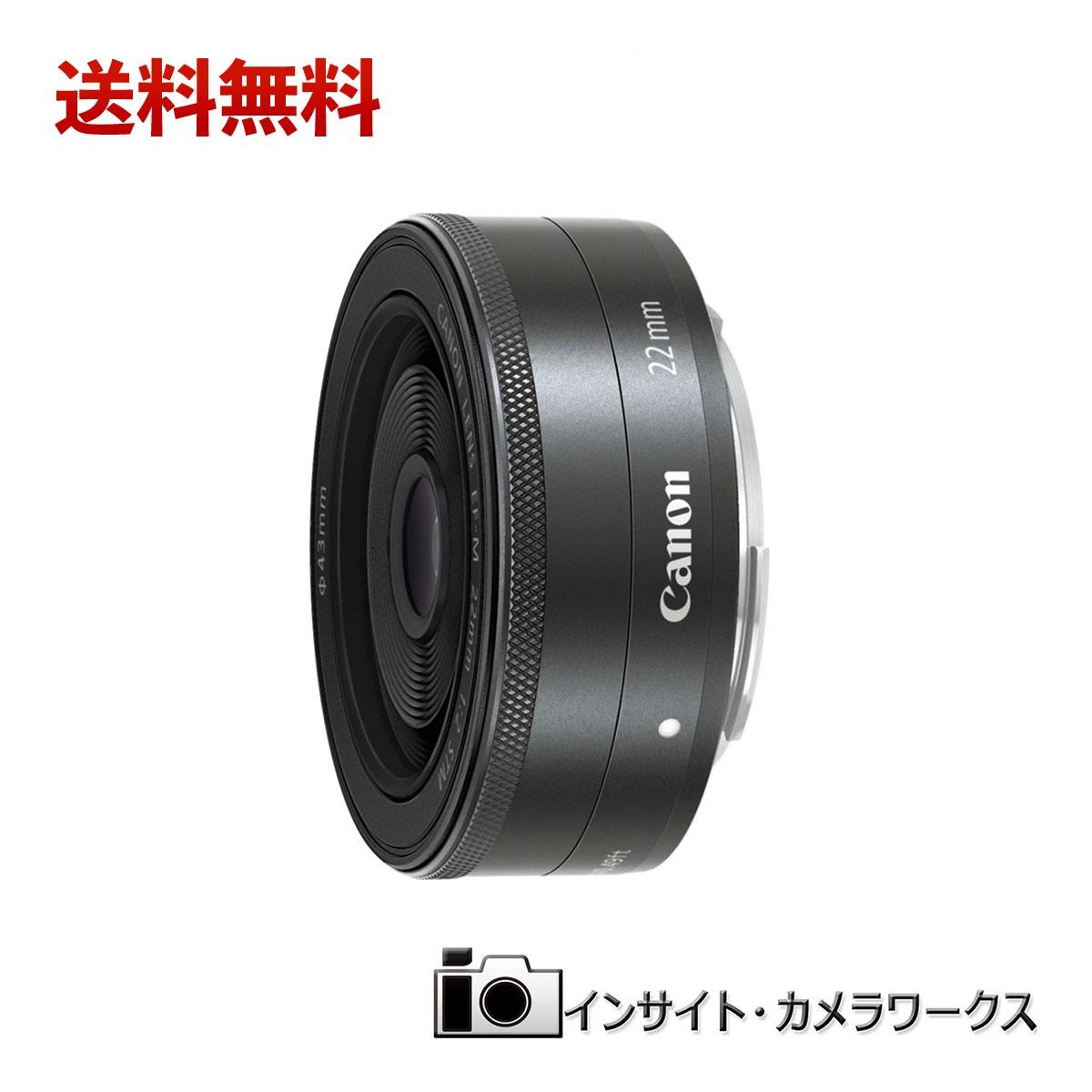 【特別価格】Canon 単焦点広角レンズ EF-M22mm F2 STM ミラーレス一眼対応 キヤノン