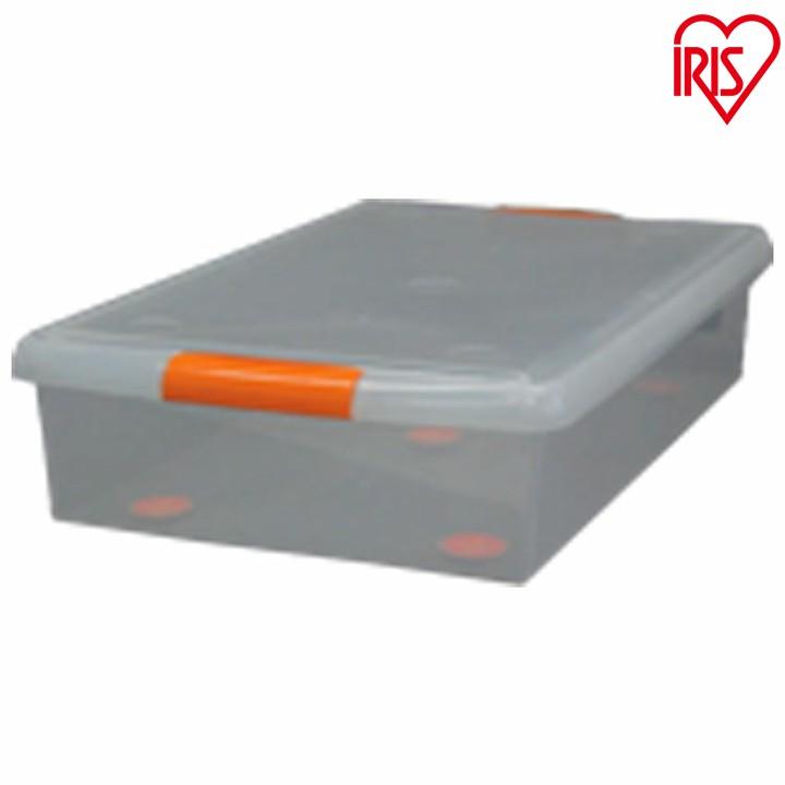 【プラスチック製 衣装ケース】薄型プラスチック収納ボックス UG-725 4個セット[幅45×奥行72.5×高さ16.5cm] アイリスオーヤマ 一人暮らし 家具 新生活