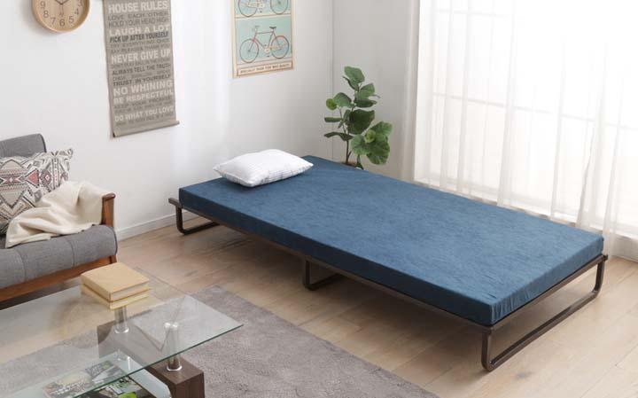 【エントリーでP5】ベッド 簡易ベッド シングル ベッドフレーム ≪送料無料≫フレームベッド FMB-S アイリスオーヤマ 一人暮らし 家具 新生活