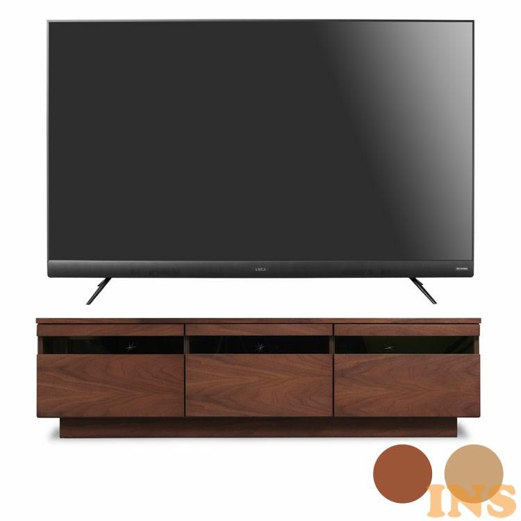 4Kテレビ 55型 音声操作 テレビ台完成品 BTS-GD150U 送料無料 テレビ テレビ台 セット TV 4K 音声操作 55型 完成品 ガラス アイリスオーヤマ