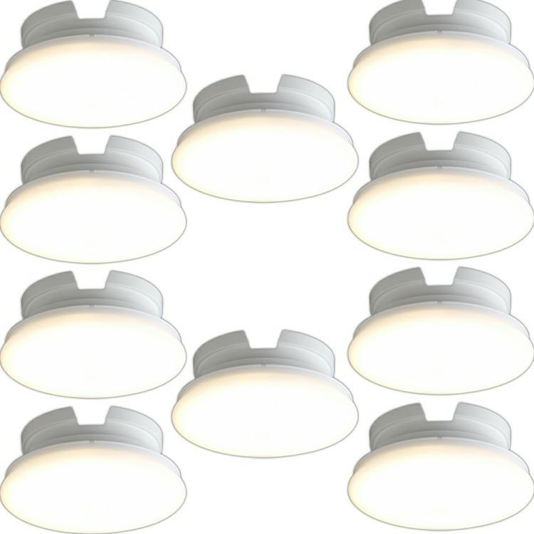 【10個セット】小型シーリングライト 薄型 600lm SCL6L-UU 電球色 SCL6N-UU 昼白色 SCL6D-UU 昼光色 送料無料 小型シーリングライト LEDライト LED小型 照明 電気 節電 工事不要 省エネ LED LEDライト 電球 照明 しょうめい 明るい ECO エコ アイリスオーヤマ