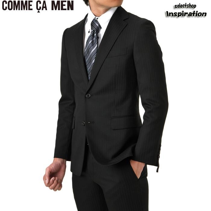 コムサメン ( COMME CA MEN ) suit striped suit q black q ( 0702sg14-05 ) gentlemen men's [brand store] 2012 sale % sale points