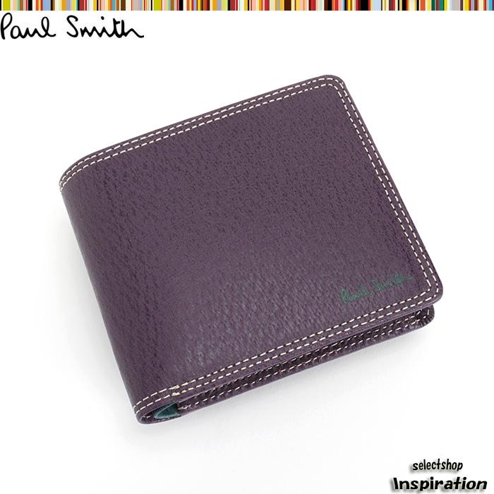960faeeba88e クーポン配布中>ポールスミス Paul Smith 財布 二つ折り財布 パープル psp617-