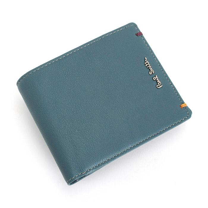 <クーポン配布中>ポールスミス Paul Smith 財布 二つ折り財布 スカイ psu754-35 メンズ 紳士