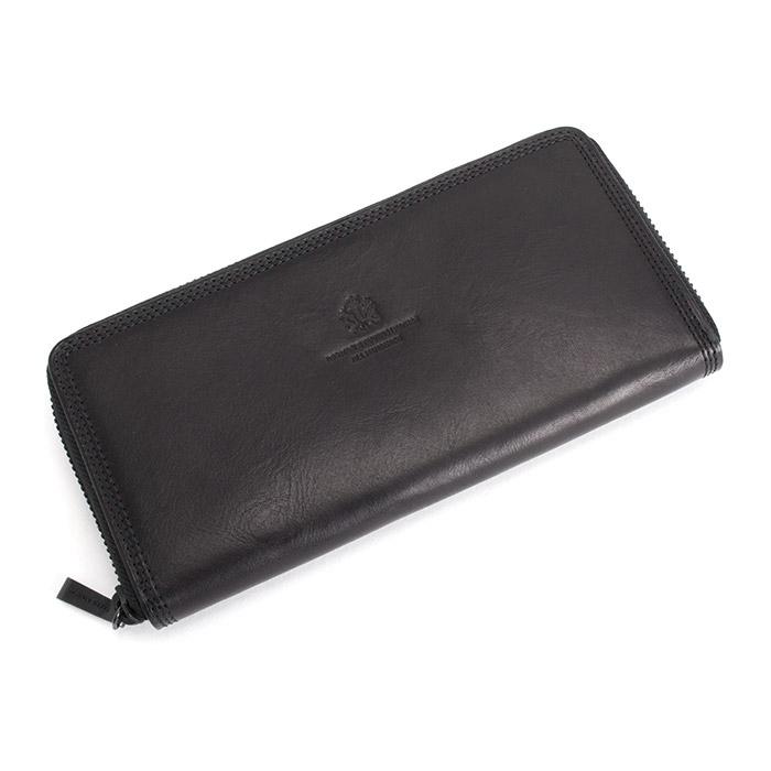 <クーポン配布中>タケオキクチ 財布 長財布 ラウンドファスナー 黒 TAKEOKIKUCHI 114606 b メンズ 紳士