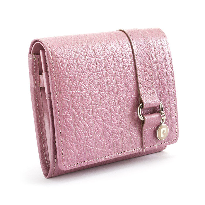 Pierre Cardin Pierre Cardin wallet two-fold wallet pink pck961-24 ladies Lady