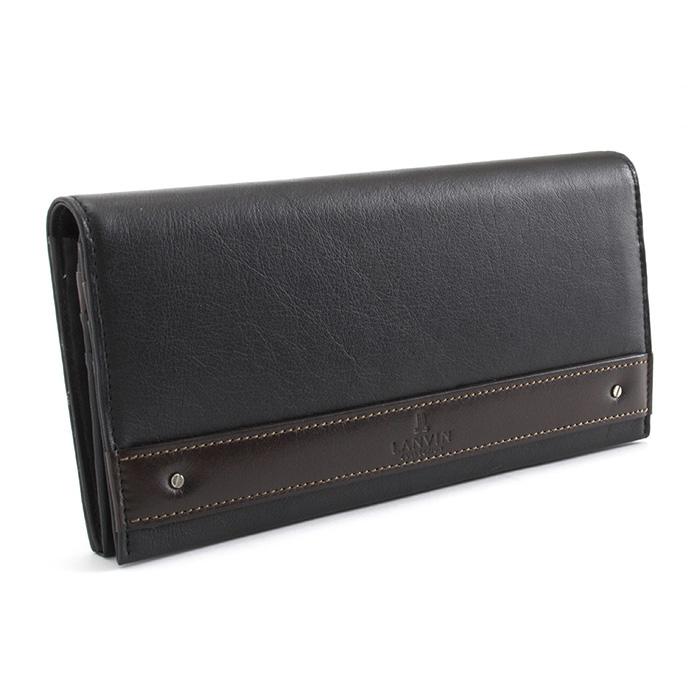 <クーポン配布中>ランバンコレクション 財布 長財布 黒 LANVINcollection 288635 メンズ 紳士