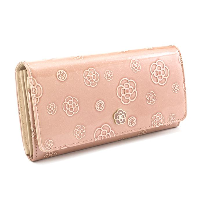 <クーポン配布中>訳あり展示品箱なし クレイサス 財布 長財布 ペールピンク系 CLATHAS 184680-37 b レディース 婦人