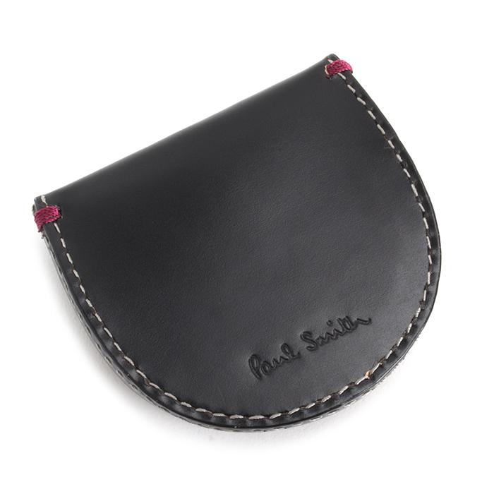 <クーポン配布中>ポールスミス 財布 小銭入れ コインケース ブラック Paul Smith psu870-10 メンズ 紳士