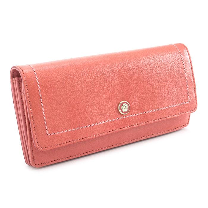<クーポン配布中>クレイサス 財布 長財布 ピンク CLATHAS 186520-32 レディース 婦人