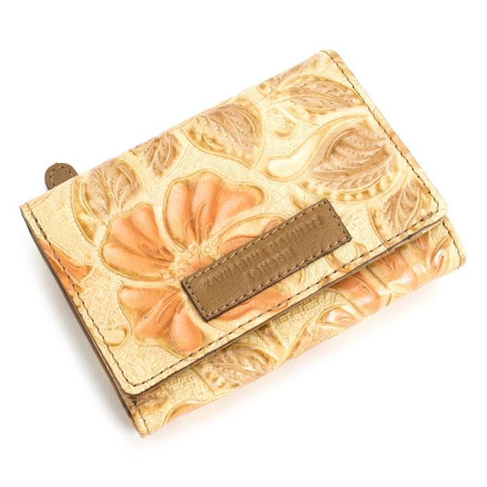 <クーポン配布中>キャサリンハムネット 財布 三つ折り財布 オレンジ KATHARINE HAMNETT LONDON khp263-42 レディース 婦人