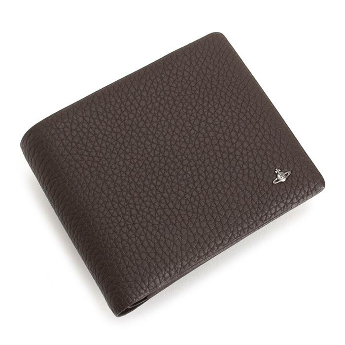 <クーポン配布中>展示品箱なし ヴィヴィアンウエストウッド 財布 二つ折り財布 茶(ブラウン) Vivienne Westwood ACCESSORIES 33383322