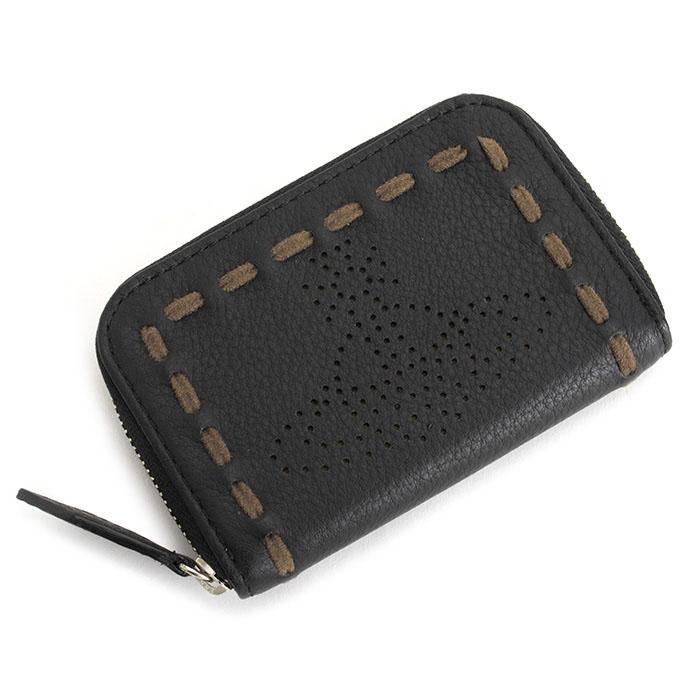 展示品箱なし ヴィヴィアンウエストウッド 財布 小銭入れ コインケース ラウンドファスナー 黒(ブラック) Vivienne Westwood ACCESSORIES 3418r841
