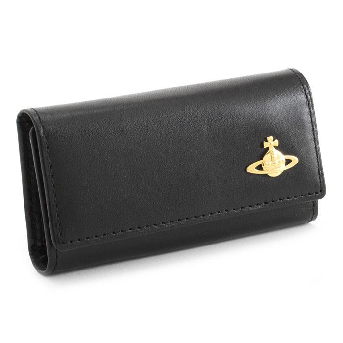訳あり展示品箱なし ヴィヴィアンウエストウッド キーケース 黒(ブラック) Vivienne Westwood ACCESSORIES 3518m151 b