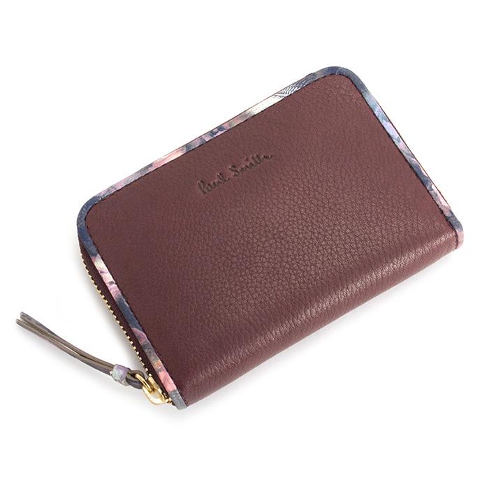 <クーポン配布中>ポールスミス 財布 小銭入れ コインケース バーガンデ Paul Smith pwu471-80 レディース 婦人
