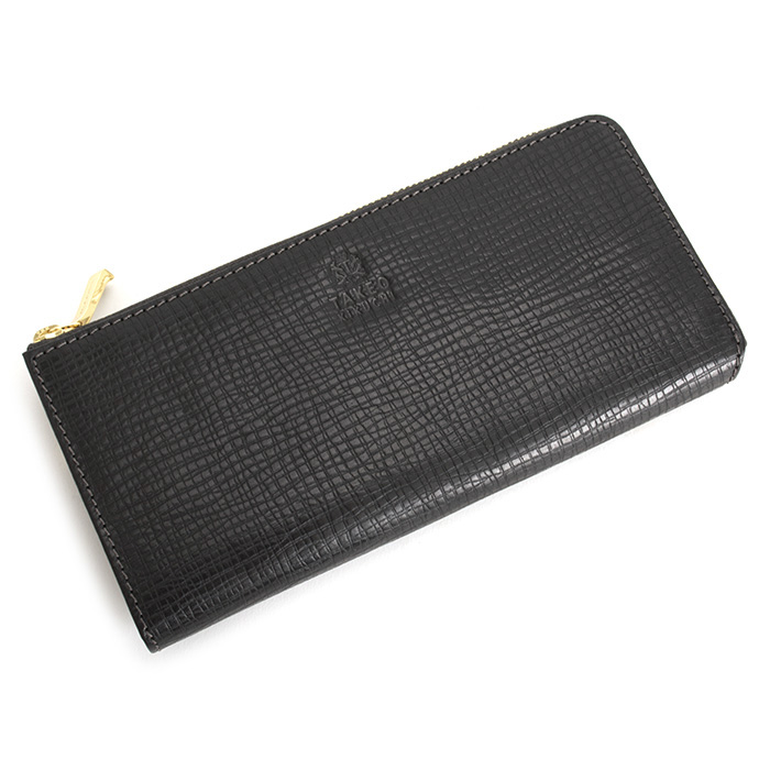 <クーポン配布中>タケオキクチ 財布 長財布 L字ファスナ- 黒(ブラック) TAKEOKIKUCHI 727614 メンズ 紳士