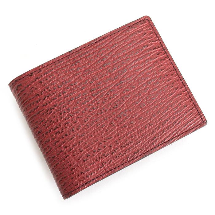 <クーポン配布中>フジタカ 財布 二つ折り財布 赤(レッド) FUJITAKA 627604 メンズ 紳士