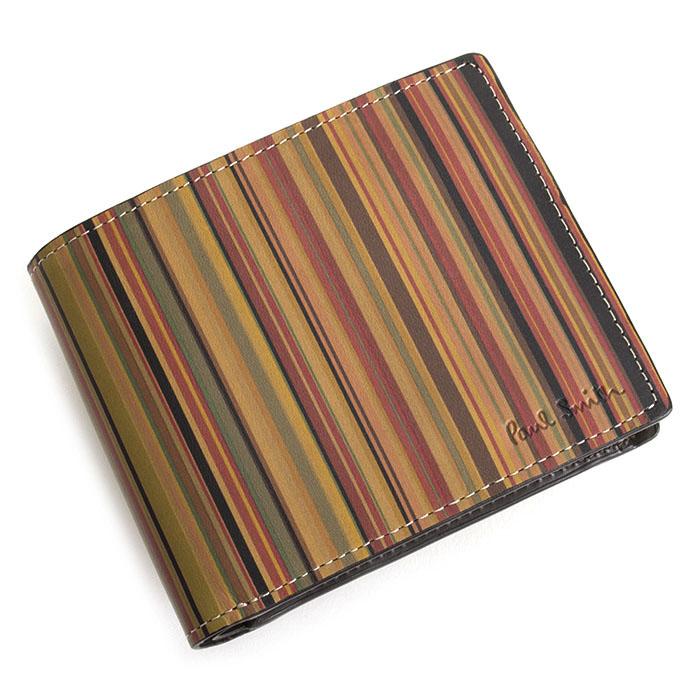<クーポン配布中>ポールスミス 財布 二つ折り財布 マルチ Paul Smith psy354-70 メンズ 紳士