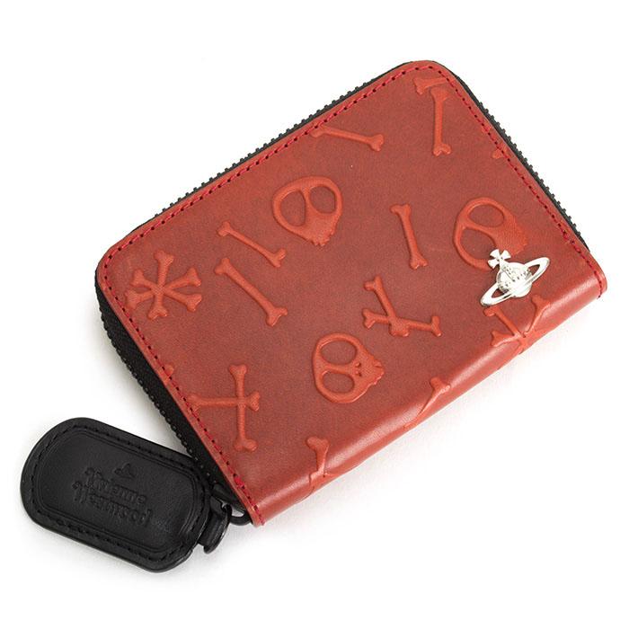 <クーポン配布中>ヴィヴィアンウエストウッド 財布 小銭入れ コインケース ラウンドファスナー 赤(レッド) Vivienne Westwood ACCESSORIES vwk130-20