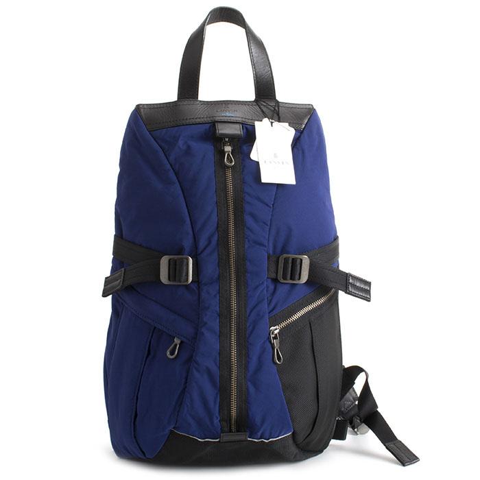 <クーポン配布中>ランバンオンブルー バッグ リュックサック 青(ブルー) LANVIN en Bleu 571701 メンズ 紳士