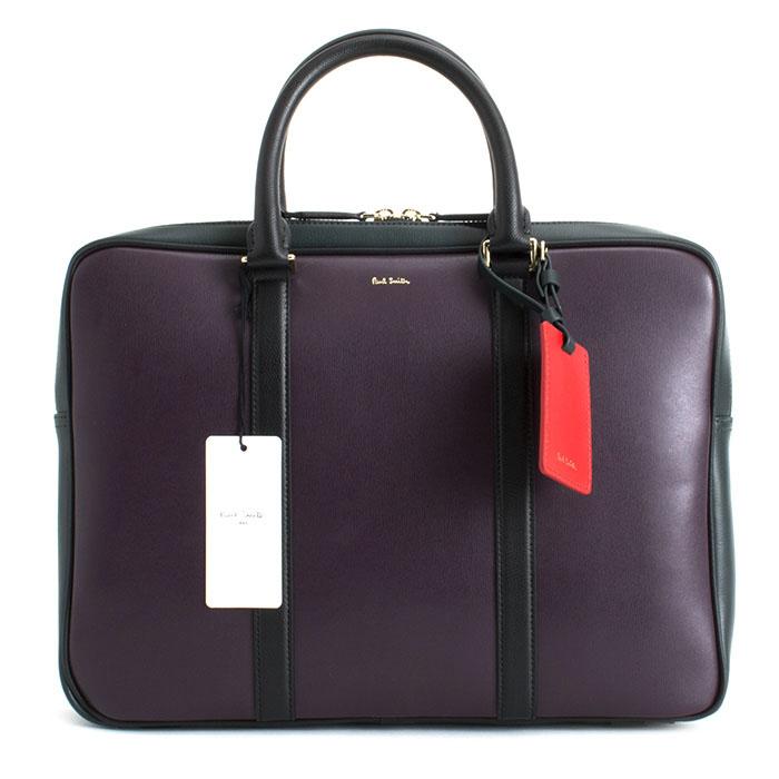 <クーポン配布中>ポールスミス バッグ ビジネスバッグ 紫(パープル) Paul Smith psn331-34 メンズ 紳士