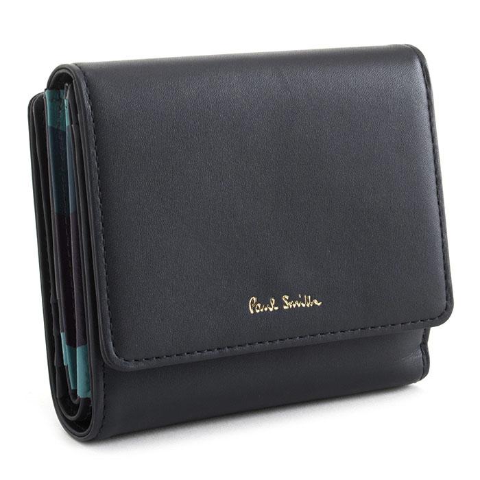 <クーポン配布中>ポールスミス 財布 二つ折り財布 紺(ネイビー) Paul Smith pwd333-30 レディース 婦人