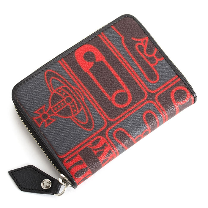 <クーポン配布中>ヴィヴィアンウエストウッド 財布 フリーケース ラウンドファスナー 赤(レッド) Vivienne Westwood ACCESSORIES vwk082-20
