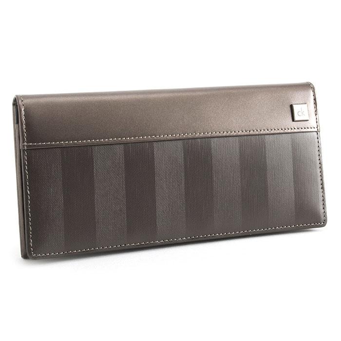 カルバンクライン 財布 長財布 茶(ブラウン) CalvinKlein 824606 メンズ 紳士