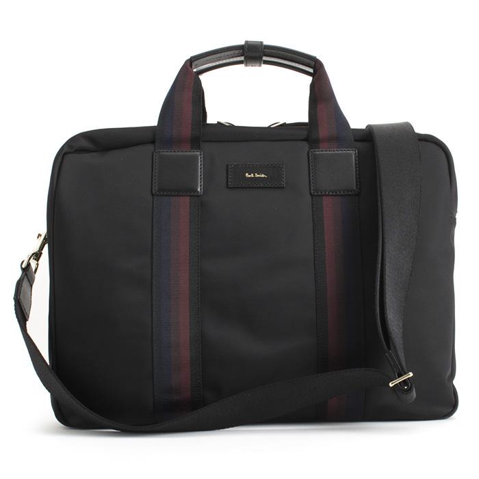 ポールスミス バッグ ビジネスバッグ 3wayバッグ 黒(ブラック) Paul Smith psn208-10 メンズ 紳士