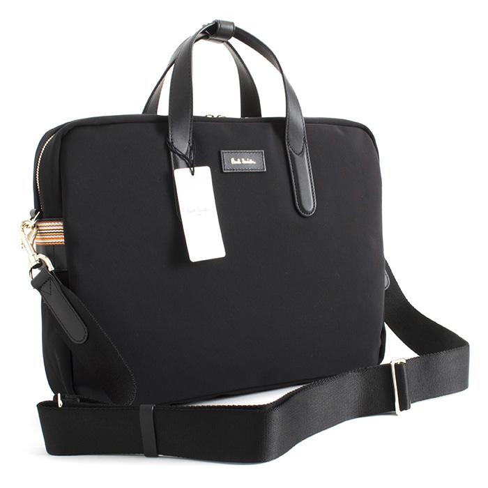 ポールスミス バッグ ビジネスバッグ 3wayバッグ 黒(ブラック) Paul Smith psn515-10 メンズ 紳士