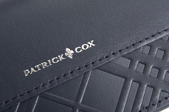 クーポン配布中 展示品箱なし パトリックコックス 名刺入れ カードケース PATRICK COX 紺 ネイビー20181206 1 メンズ 紳士wOvmN0y8nP