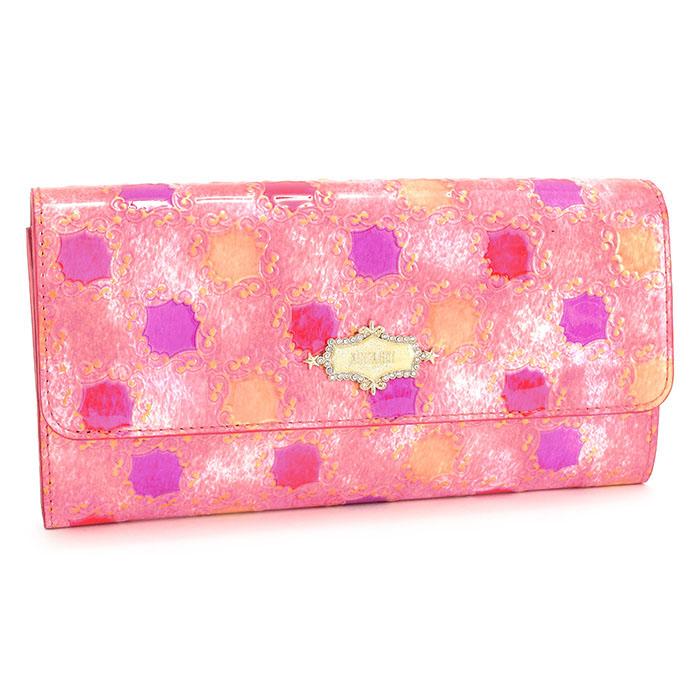アナスイ 財布 長財布 がま口財布 ピンク ANNA SUI 313421-33 レディース 婦人