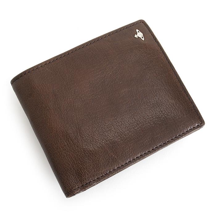 <クーポン配布中>訳あり展示品箱なし ヴィヴィアンウエストウッド 財布 二つ折り財布 茶系(ブラウン) Vivienne Westwood ACCESSORIES 33381414 b