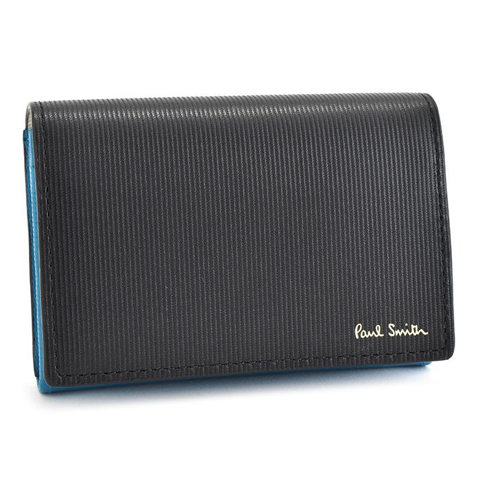 ポールスミス 財布 二つ折り財布 黒(ブラック) Paul Smith psc204-10 メンズ 紳士
